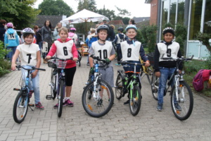 Fahrradgeschicklichkeitswettbewerb 2018
